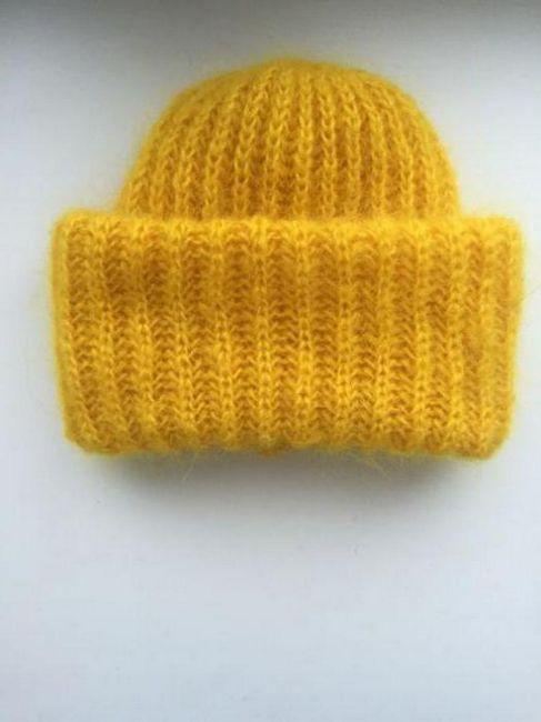 trodimenzionalne kape s iglama za pletenje