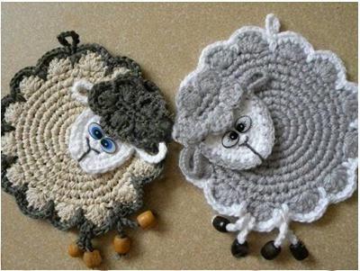 как связать овечку крючком схема и описание фото