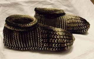 Kako vezati papuče s iglama za pletenje
