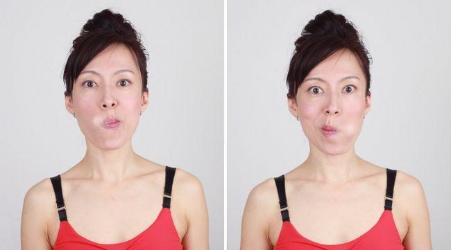 gimnastika za lice