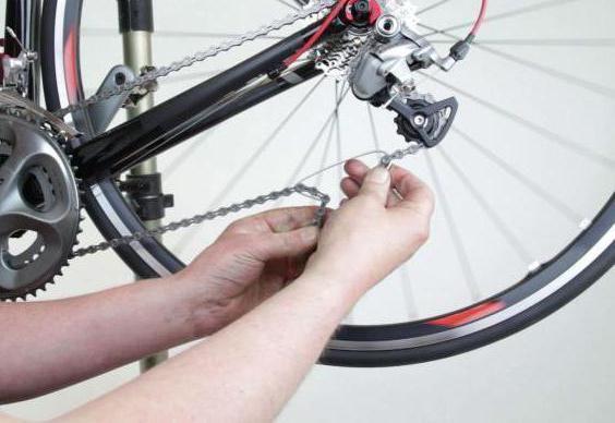 kako skratiti lanac na biciklu