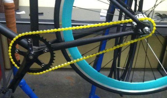 kako skratiti lanac na biciklu bez stiskanja