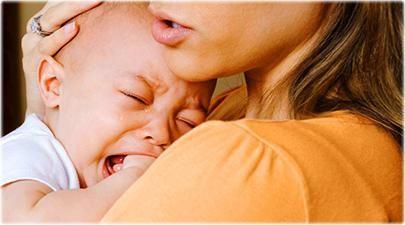 kako smiriti novorođeno dijete stalno plakati