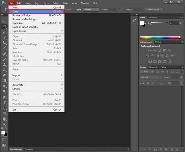 kako crtati strelicu u Photoshop CS6