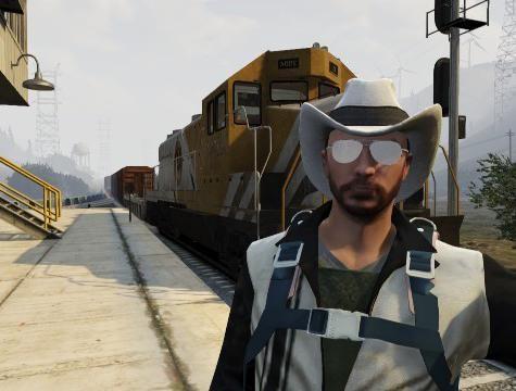 Как в `ГТА 5` угнать поезд? Возможно ли это?