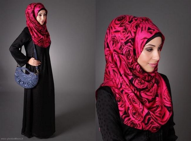Kako povezati hidžab - tradicionalni islamski ženski šal