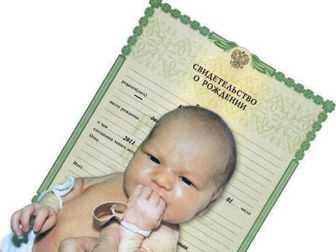 registracija dokumenata nakon rođenja djeteta