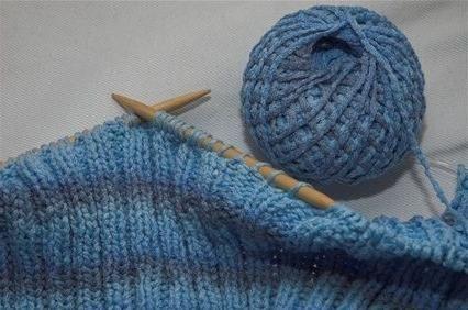 Pletenje na dvije igle za pletenje