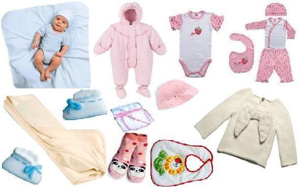 popis za kupnju novorođenčeta