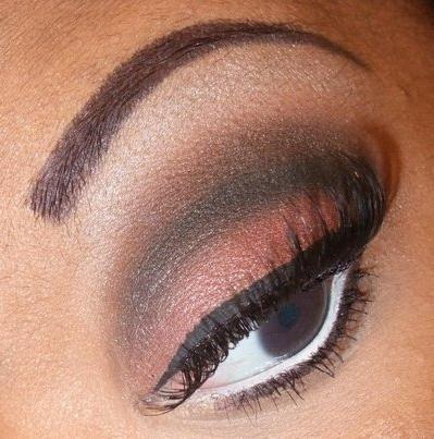 foto makeup oči