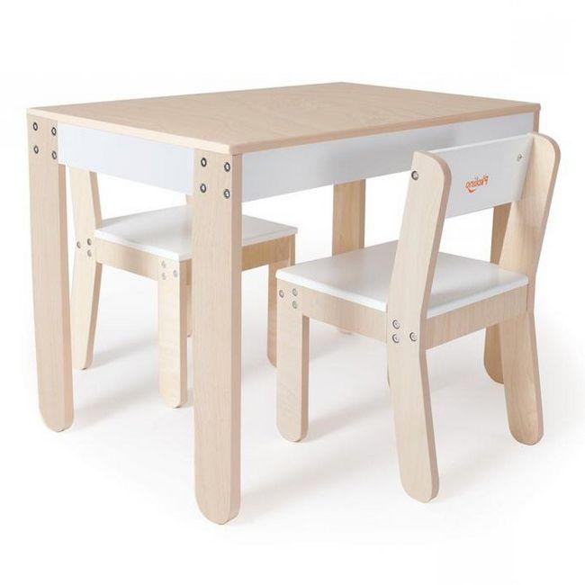 drvena visoka stolica za dijete