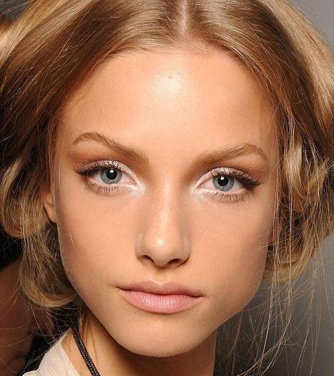 make-up za plave oči i plavu kosu