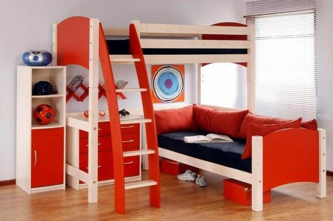krevet na kat za tinejdžera