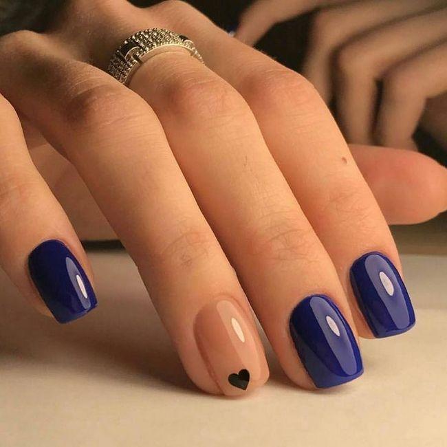 kakva je boja noktija sada u modi