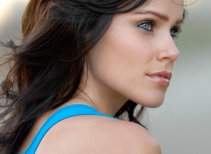 boja kose za sivo-plave oči