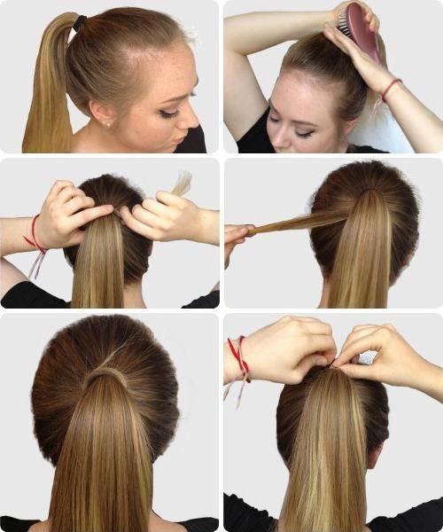 jednostavne frizure u školu