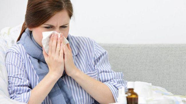 katarhalni sindrom u zaraznim bolestima