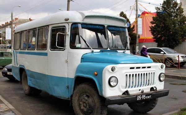 КАвЗ-685. Советский автобус среднего класса