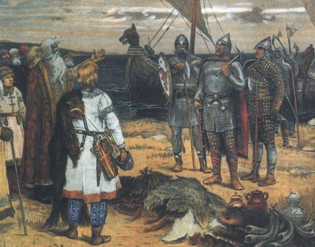 Ključne točke i preduvjeti za formiranje drevne ruske države