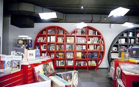 knjižare u Moskvi