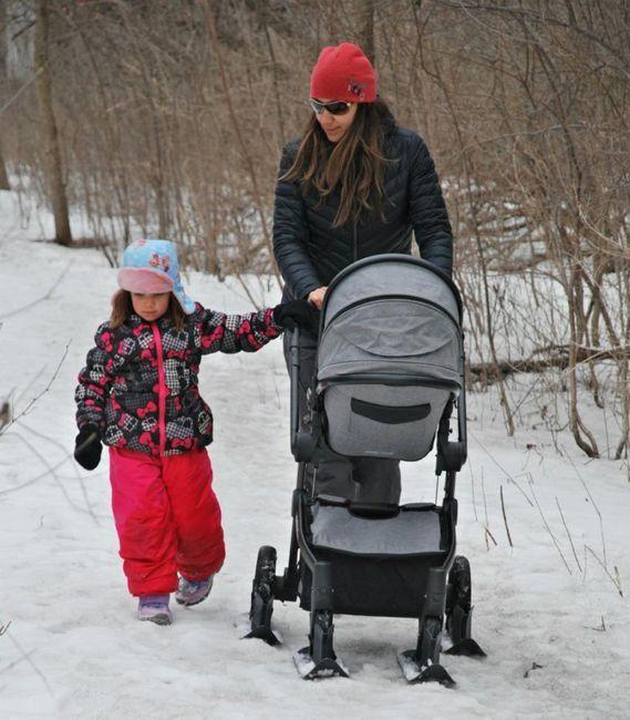 Pješačenje zimi