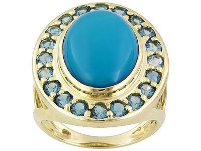 Prsten s tirkizom - simbol ljubavi, sreće i priznanja
