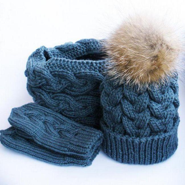 kapa za pletenje