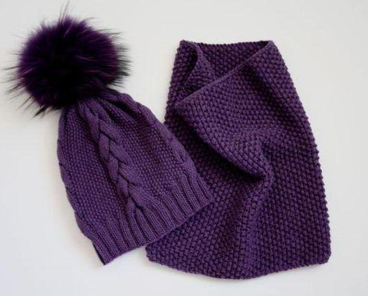 kape povezane s iglama za pletenje