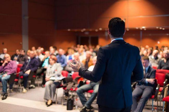 Конференция - это средство общения между людьми