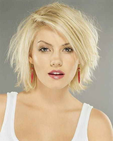 kratke frizure ovalne ženske lice