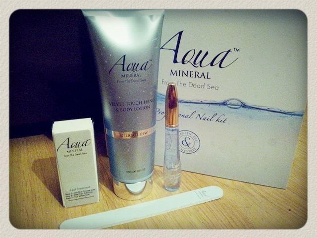 kozmetički proizvodi od aqua minerala