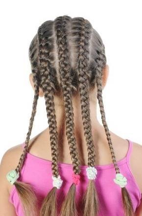 Lijepe frizure na fotografiju škole
