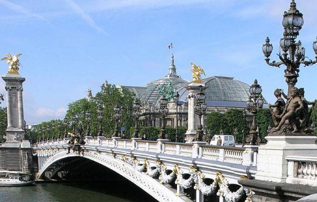 Alexandra 3 mosta u Parizu