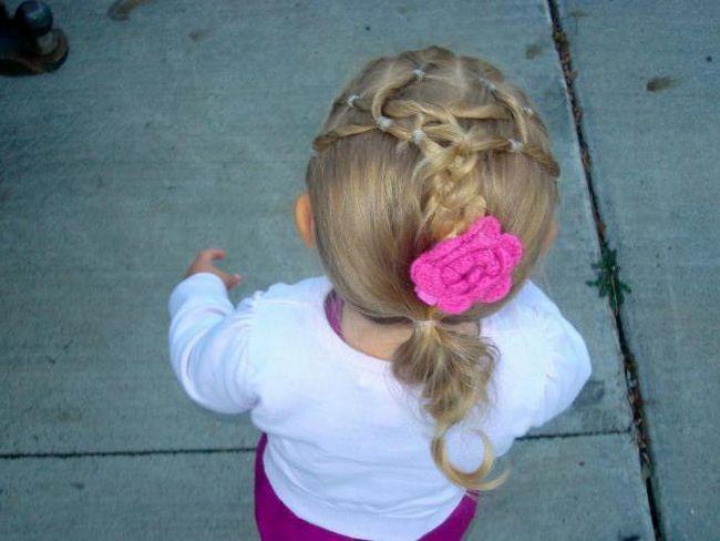 lijepe frizure za djevojčice
