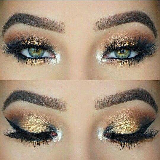 šminka za zelene oči