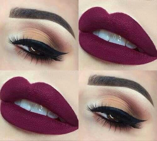 večernji make-up za smeđe oči