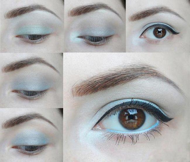 lijepa zimska make-up