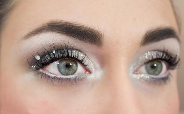 zimske šminke oči