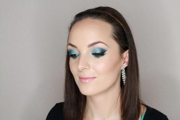 zimski make-up za brinete