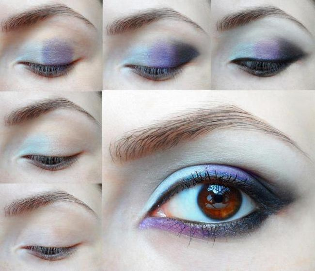 zimski make-up za fotografiranje