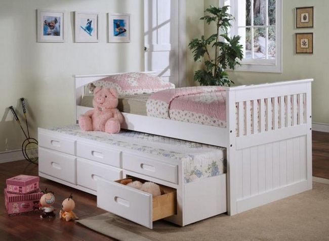 dječji namještaj s krevetom na izvlačenje