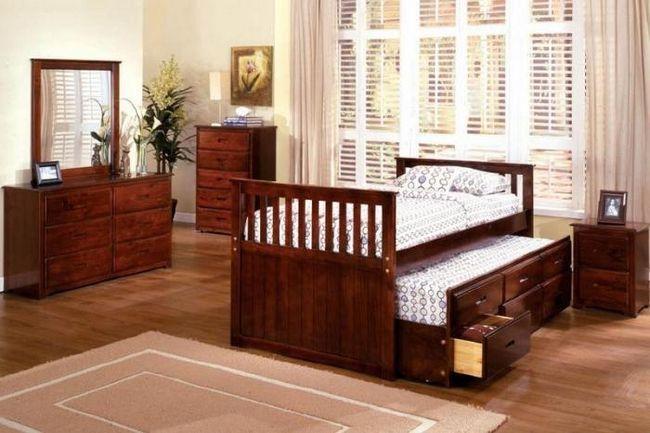 dječji dvostruki krevet na izvlačenje