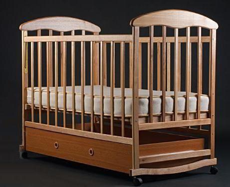 dječji krevetić za novorođenčad natalka alder svjetlo