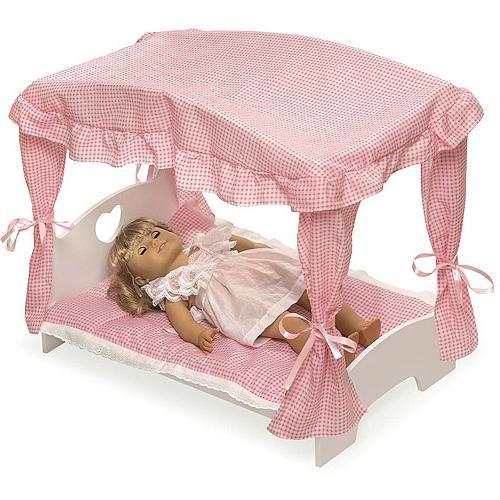 dječji krevetić za foto lutke