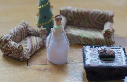 kako napraviti lutku namještaj