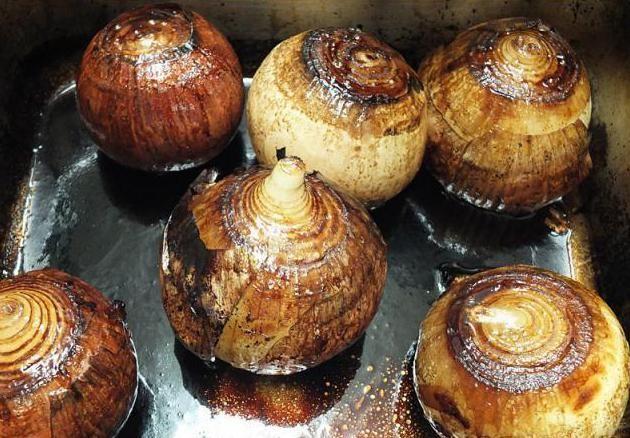 pečeni luk u šećernoj bolesti kao pečen