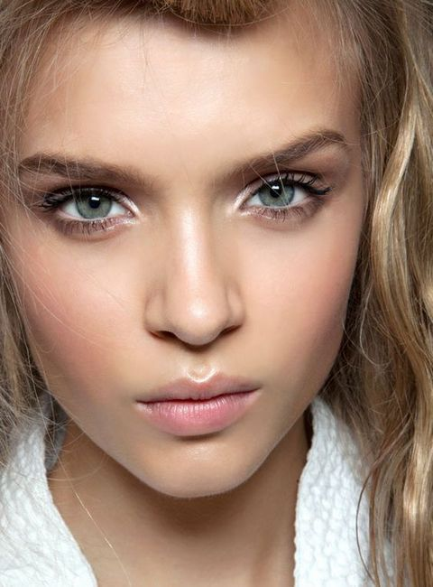 make-up za plavuše sa sivim očima