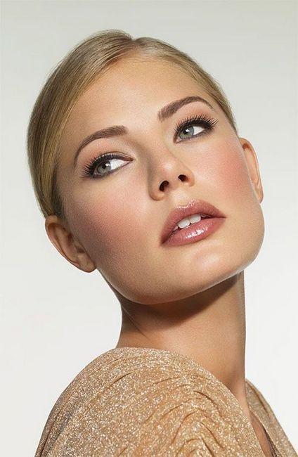 make-up za plavuše sa smeđim očima
