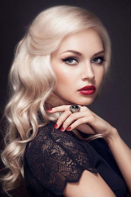 make-up za plavuše