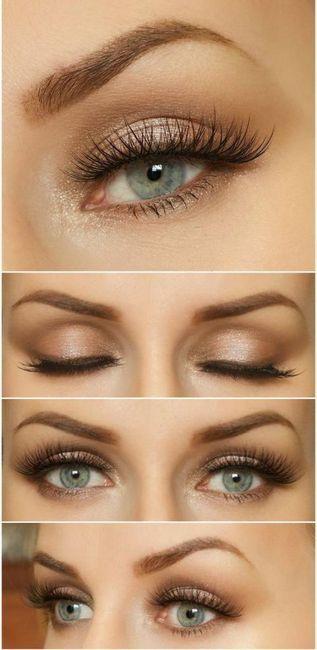 make-up za plavuše s plavosivim očima